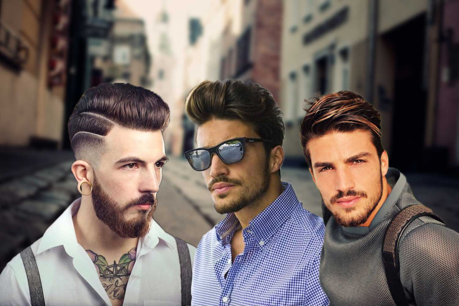 trendy pompadour hairstyles for men