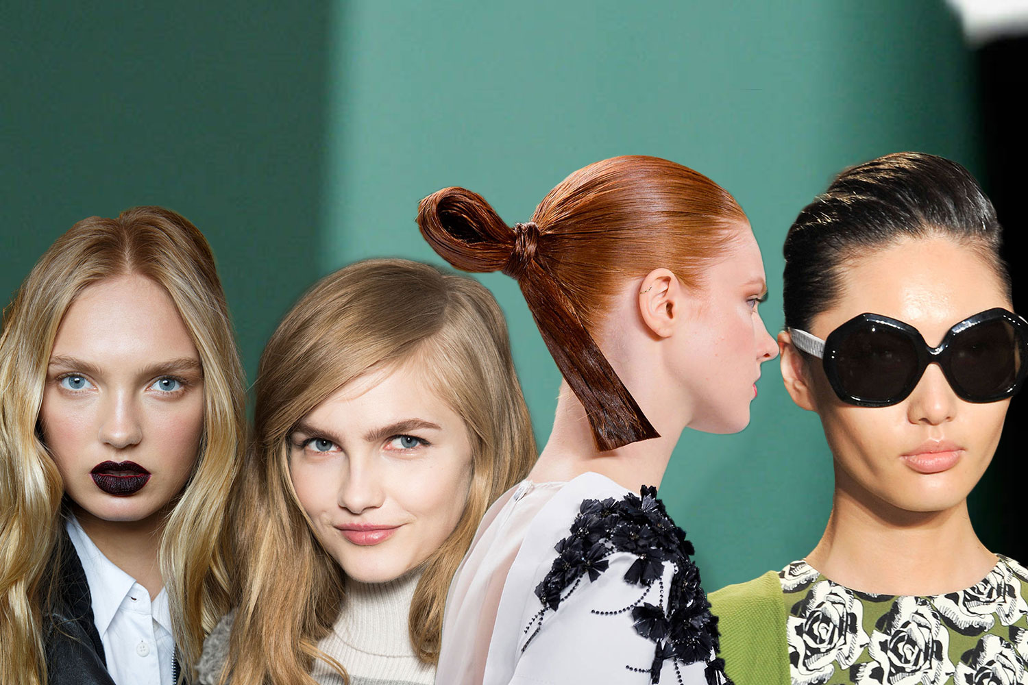 Fashion Weeks Runway Hairstyles 2017: Looking Back To ...