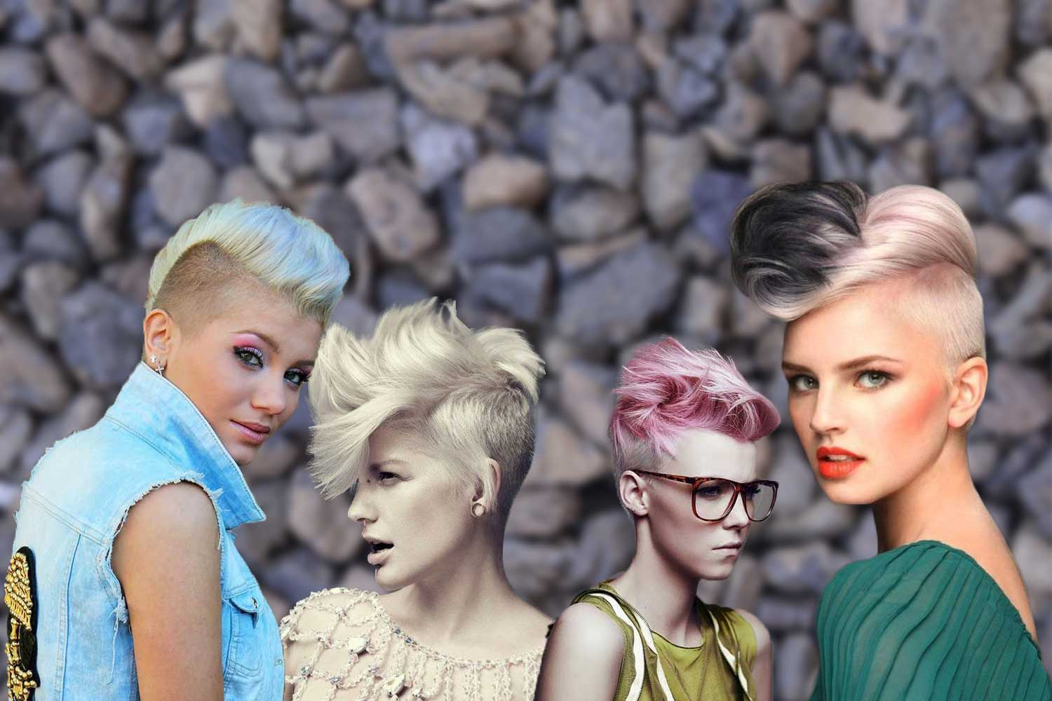 Mohawk Hairstyles For Women That Have Something To Say Hairstyles