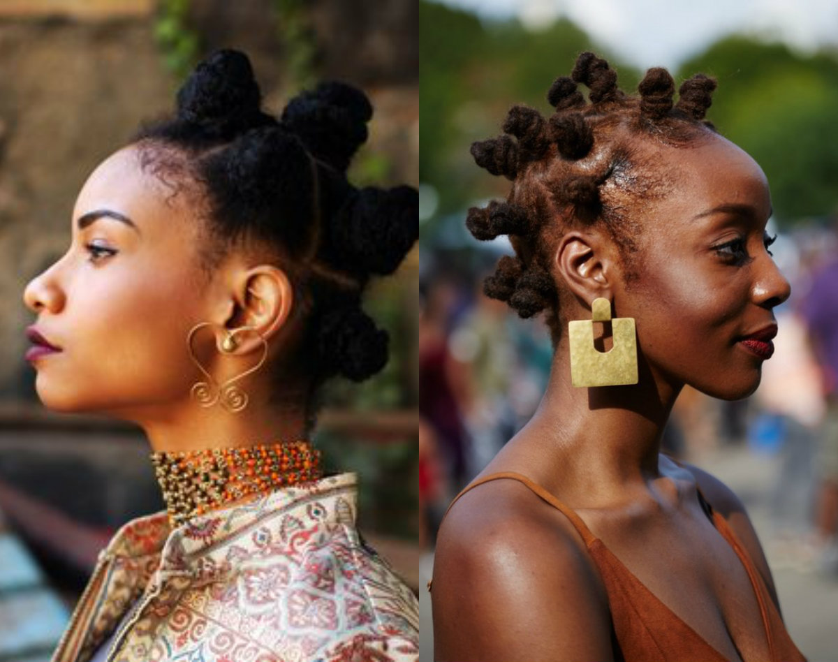 Bantu Knots Hairstyles Amazingly Authentic Hairstyles