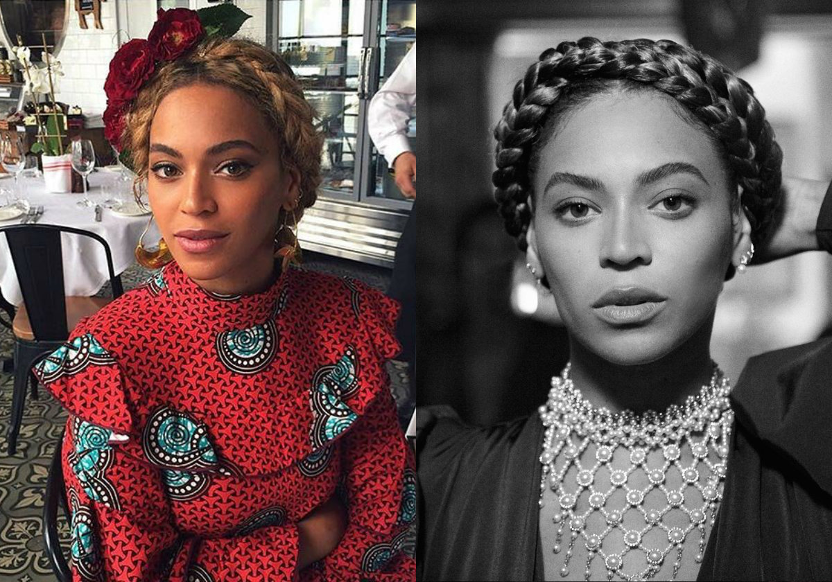 beyonce braid crown beyonc 233 spectacular celebrity ...