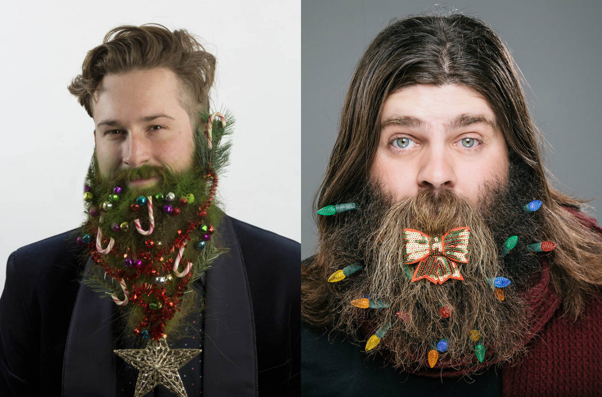 Christmas beards and hairstyles for men 2017
