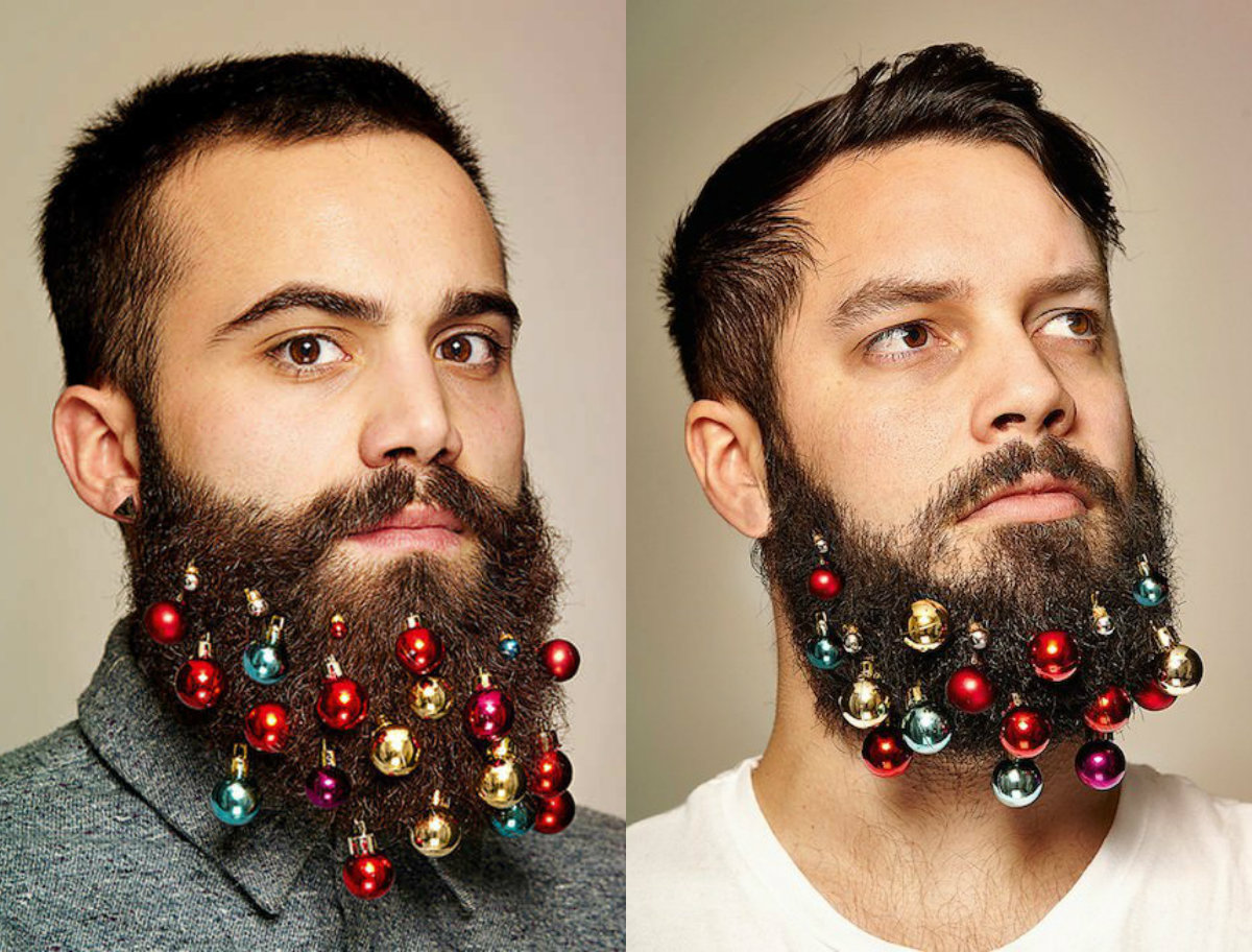 Christmas beards and mens hairstyles 2017
