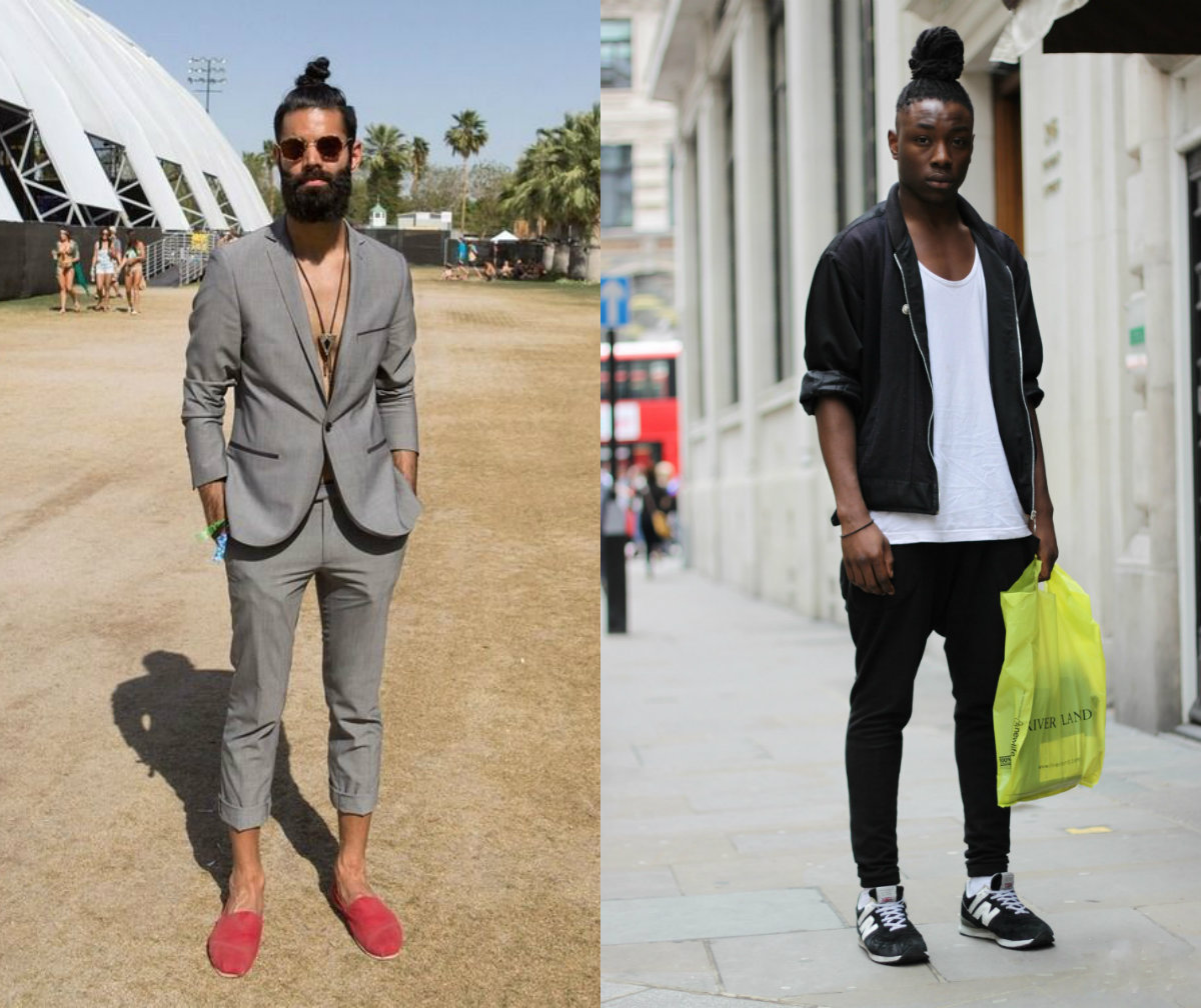 Street Style Top Knots For Men To Change Your Perception
