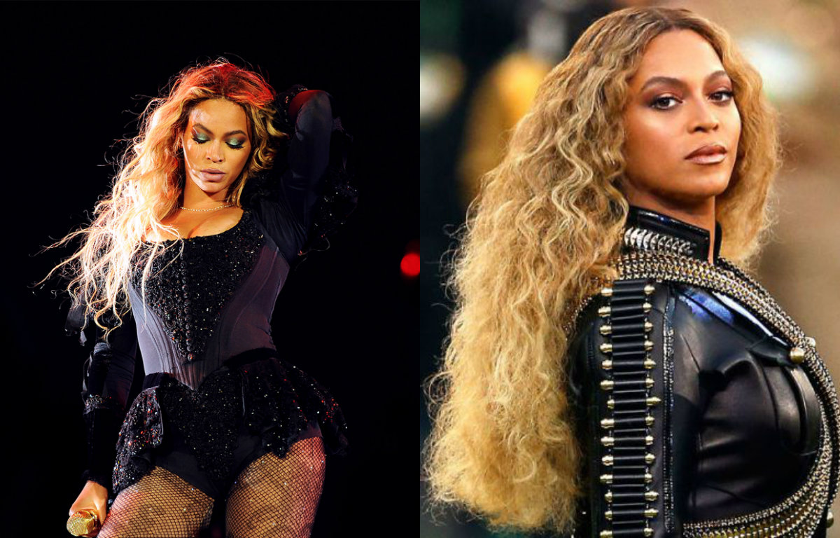 Marvelous Beyonce Spectacular Celebrity Hairstyles On Amp Off Formation Tour Hairstyles For Women Draintrainus