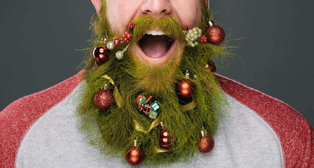 Green beard for New Year