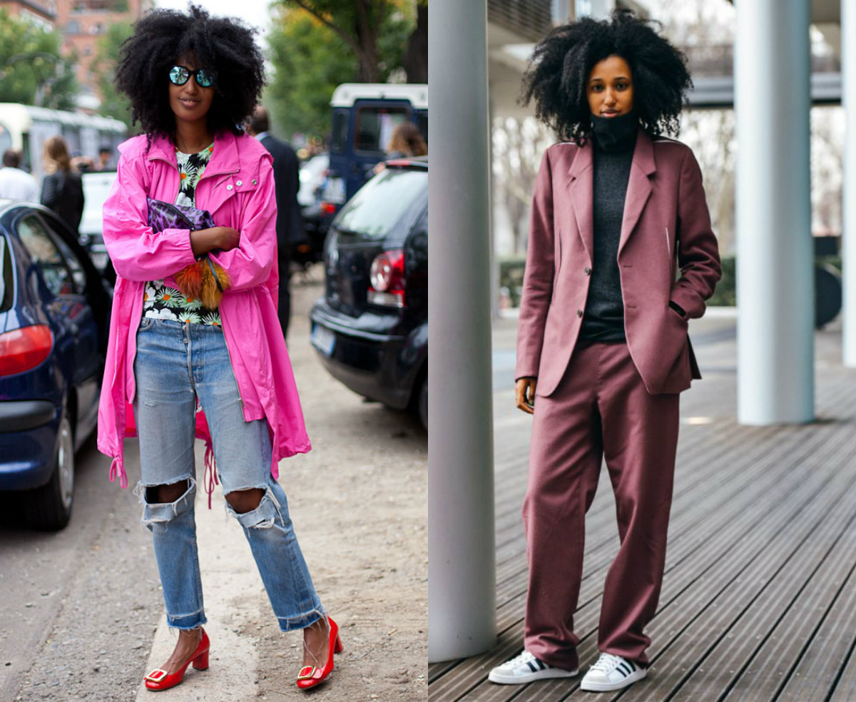 Black Women Street Style Amp Natural Afro Hairstyles