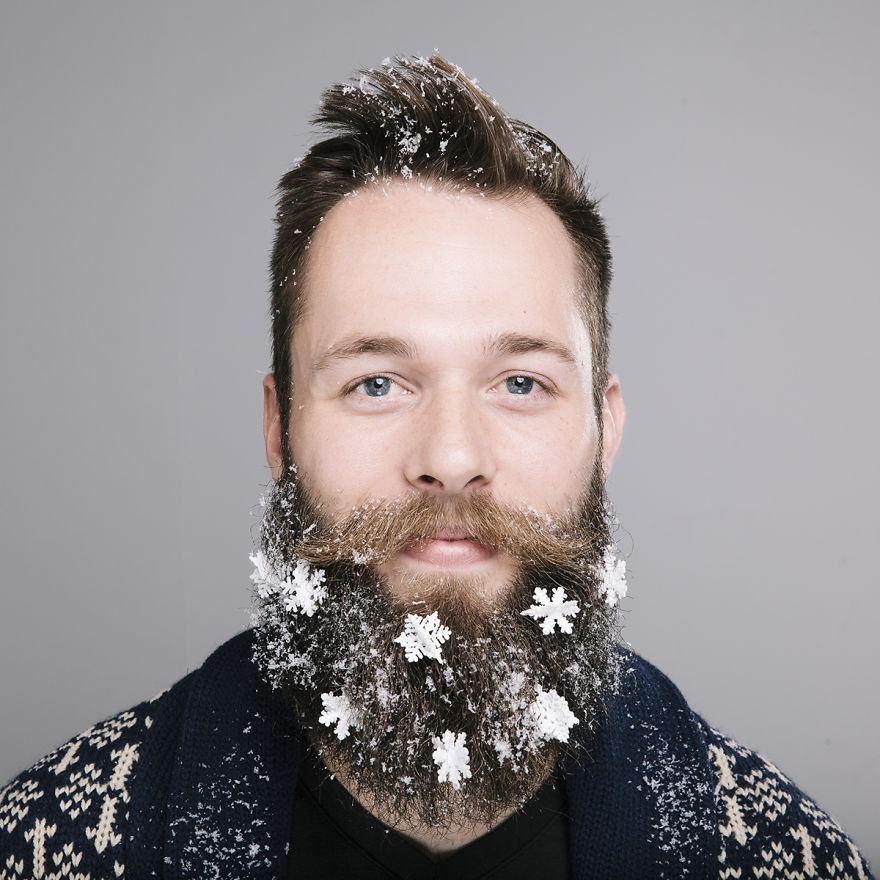 Funny Christmas Beard Decoration Amp Men S Hairstyles