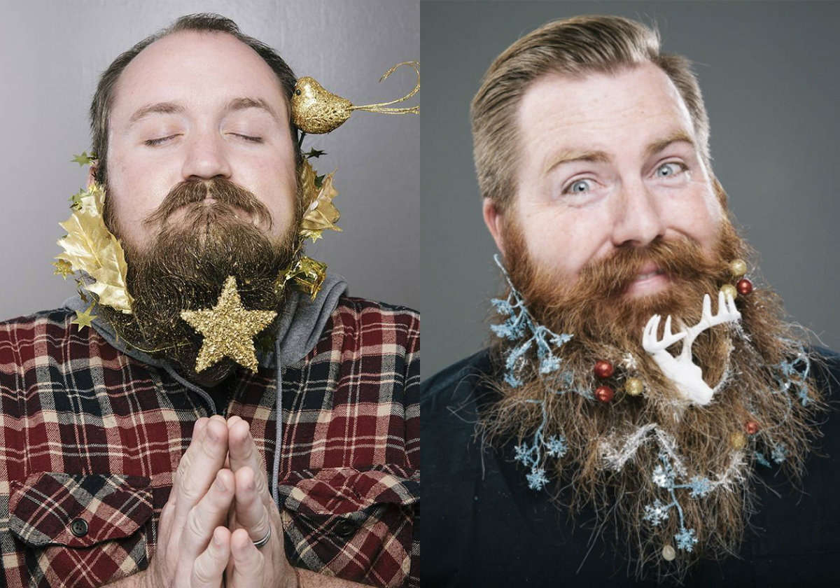 New Year beard styles for men