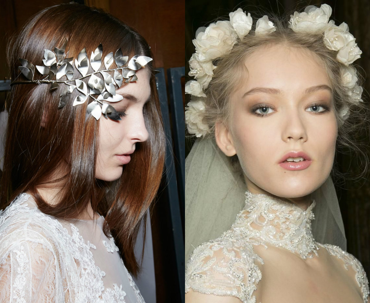 Zuhair Murad divine wedding headpieces