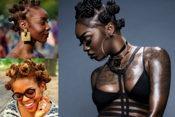 best african bantu knots hairstyles