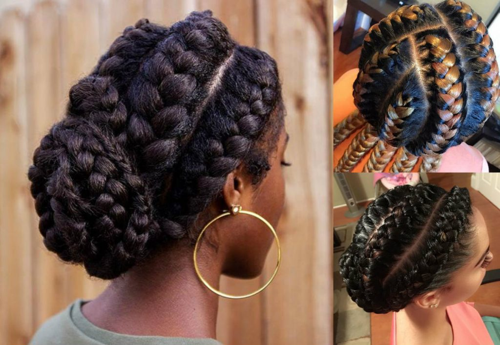 Stunning Goddess Braids Hairstyles For Black Women