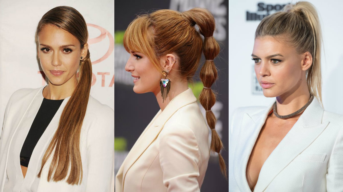 Office Ponytails For 2016 Fall Business Style Looks Hairstyles