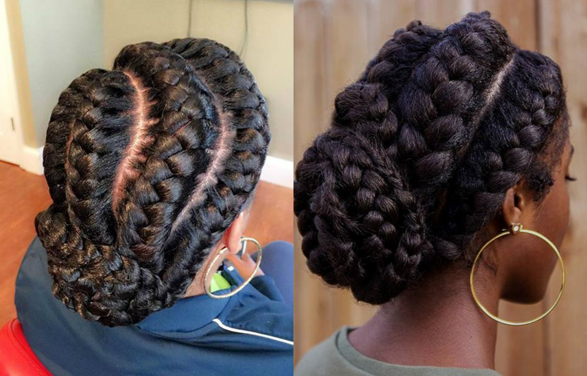 Excellent Stunning Goddess Braids Hairstyles For Black Women Hairstyles Hairstyle Inspiration Daily Dogsangcom