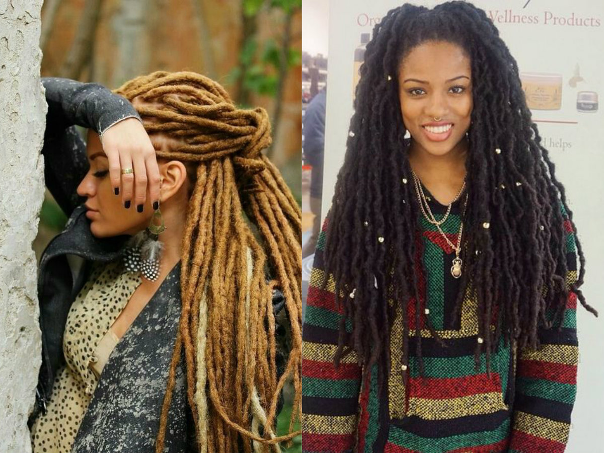Eye Catching Black Women Dreadlocks For Authentic Looks ...
