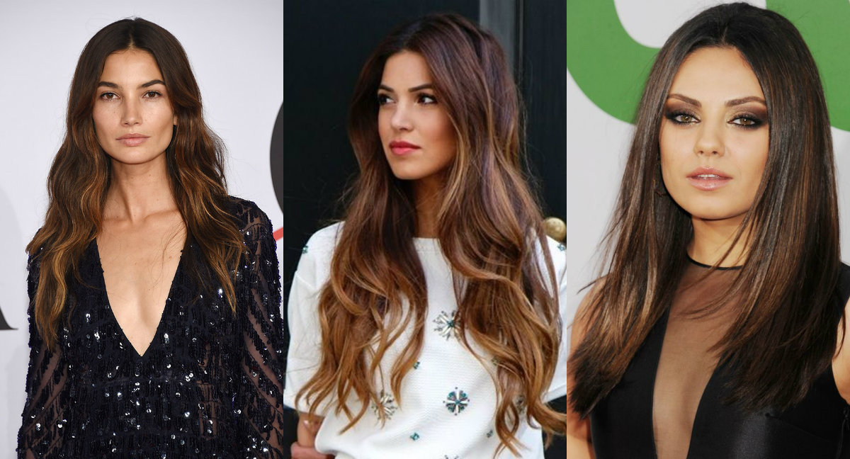 Trendy Hair Colors For Brunettes 2017 Best Hair Color Trends 2017 ...