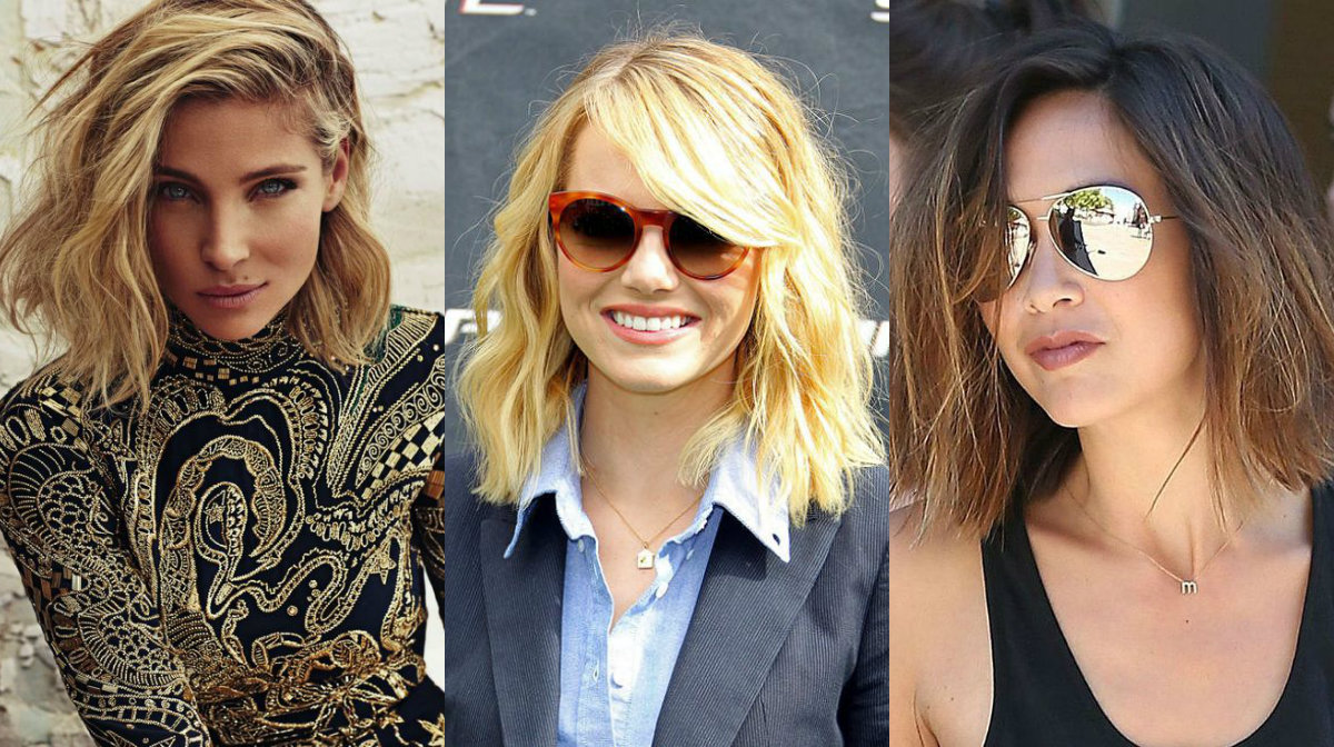 casual messy bob hairstyles form streets
