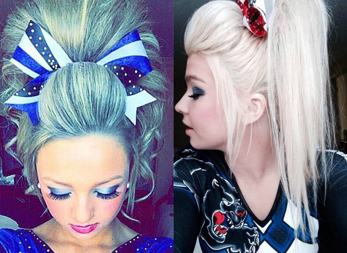 cher lloyd hairstyles : Cute Cheer Hairstyles Any Cheerleader Will Love Hairstyles ...