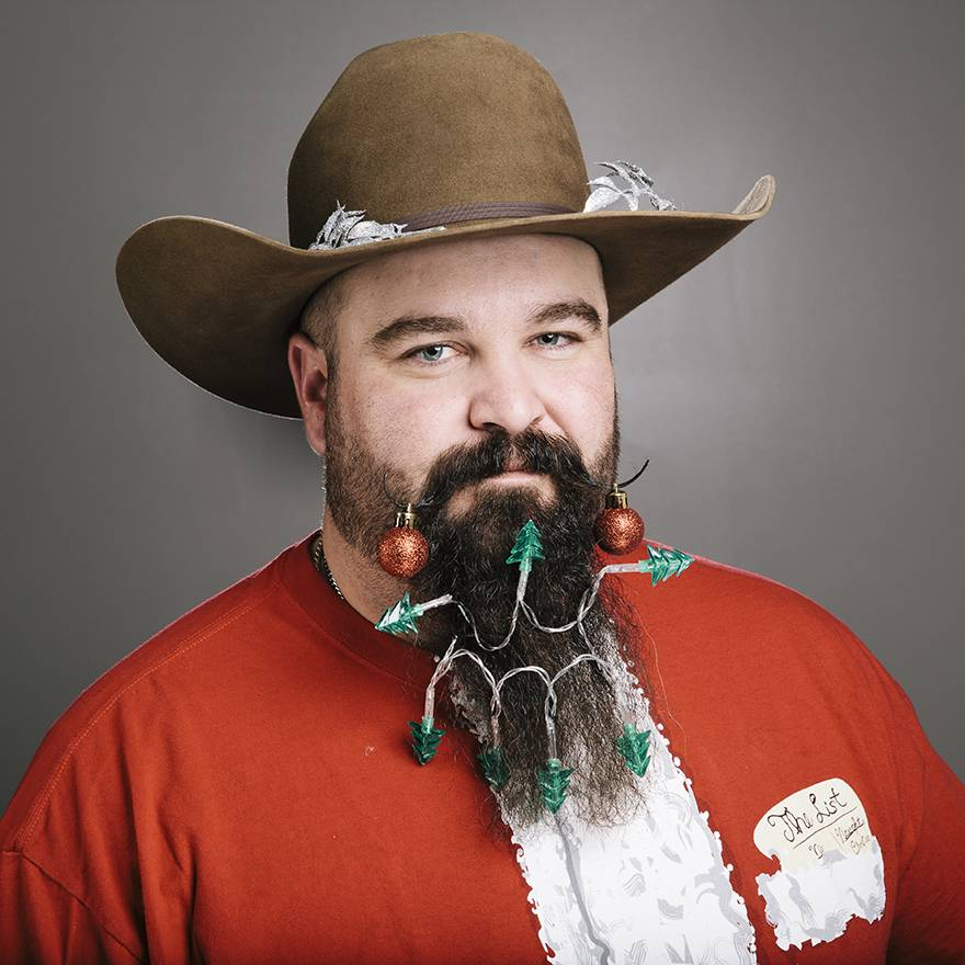 cowboy beards for Christmas hairstyles for men