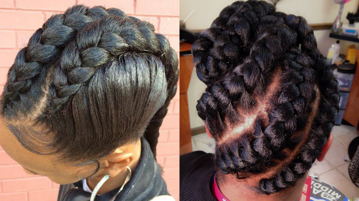 Stunning Goddess Braids Hairstyles For Black Women ...