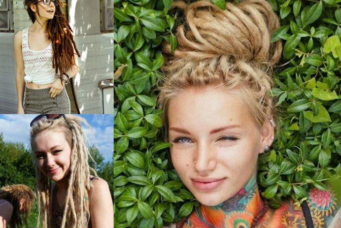 dreadlocks white women