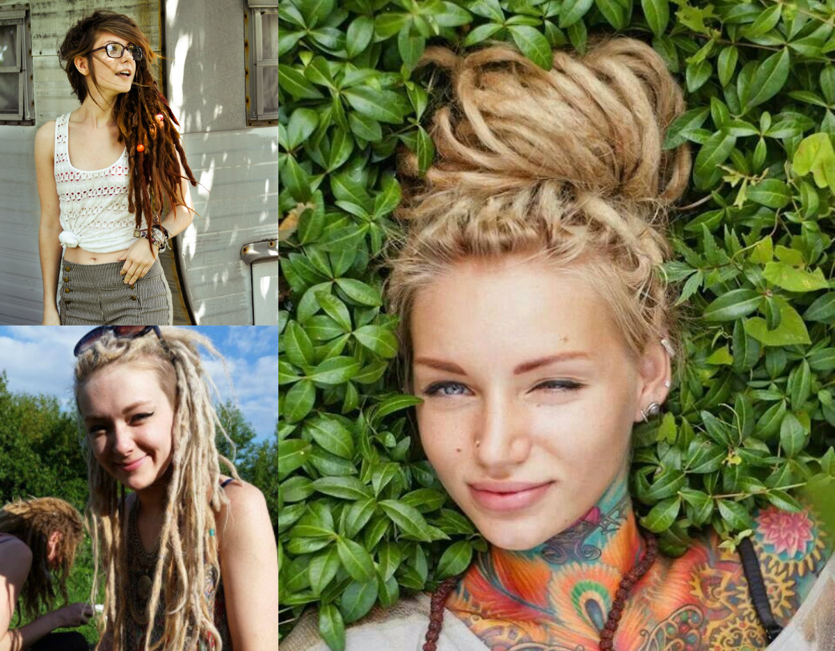 Female Dreads Hairstyles For The Most Daring Ones | Hairstyles, Haircuts and Hair Colors On ...