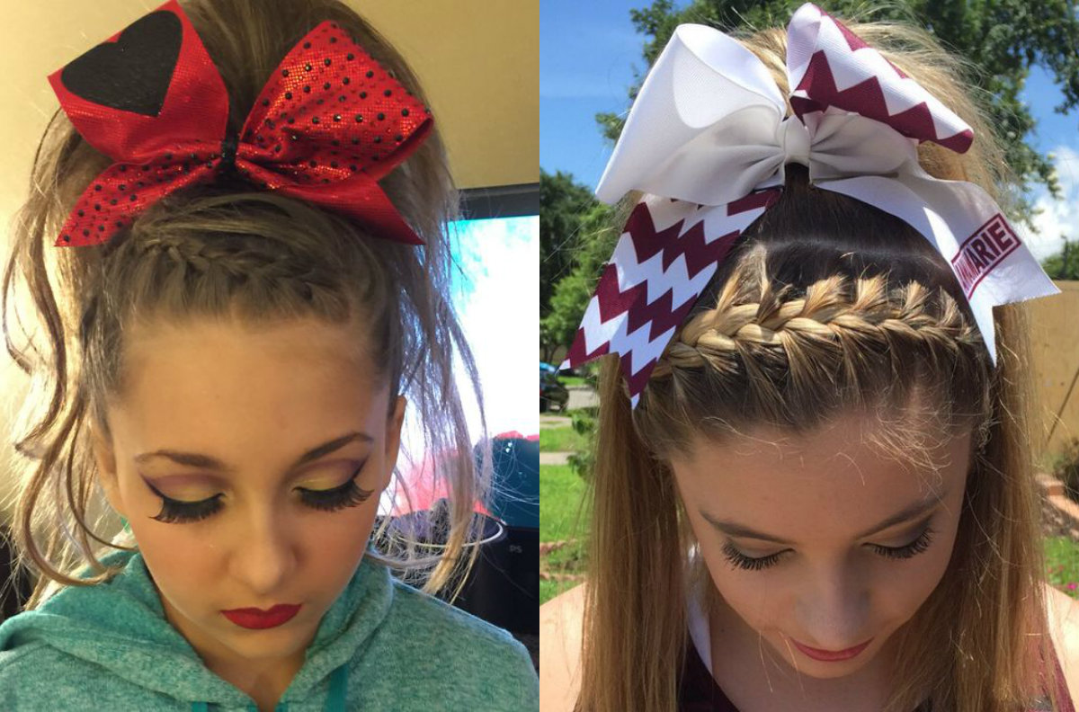 Lastest 16 Cute Cheer Hairstyles