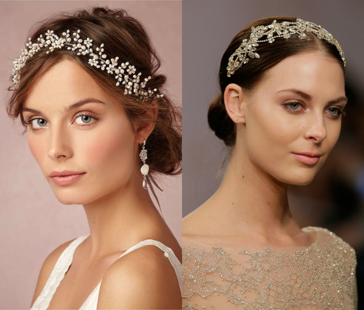 jewel flowers bridal hairstyles