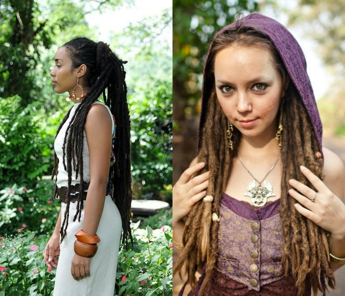 Female Dreads Hairstyles For The Most Daring Ones