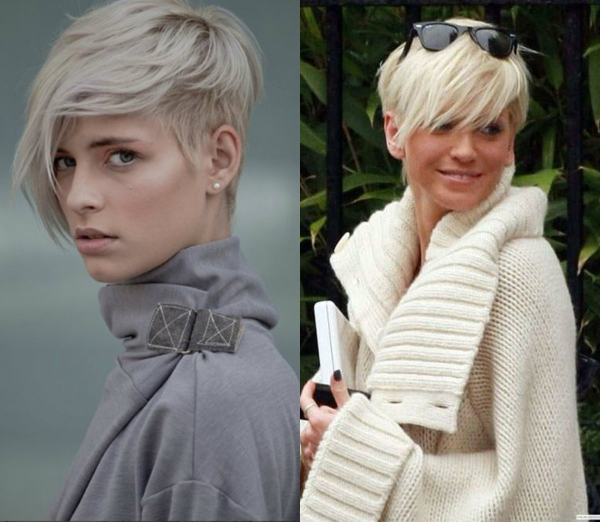 Long Short Pixie Hairstyles