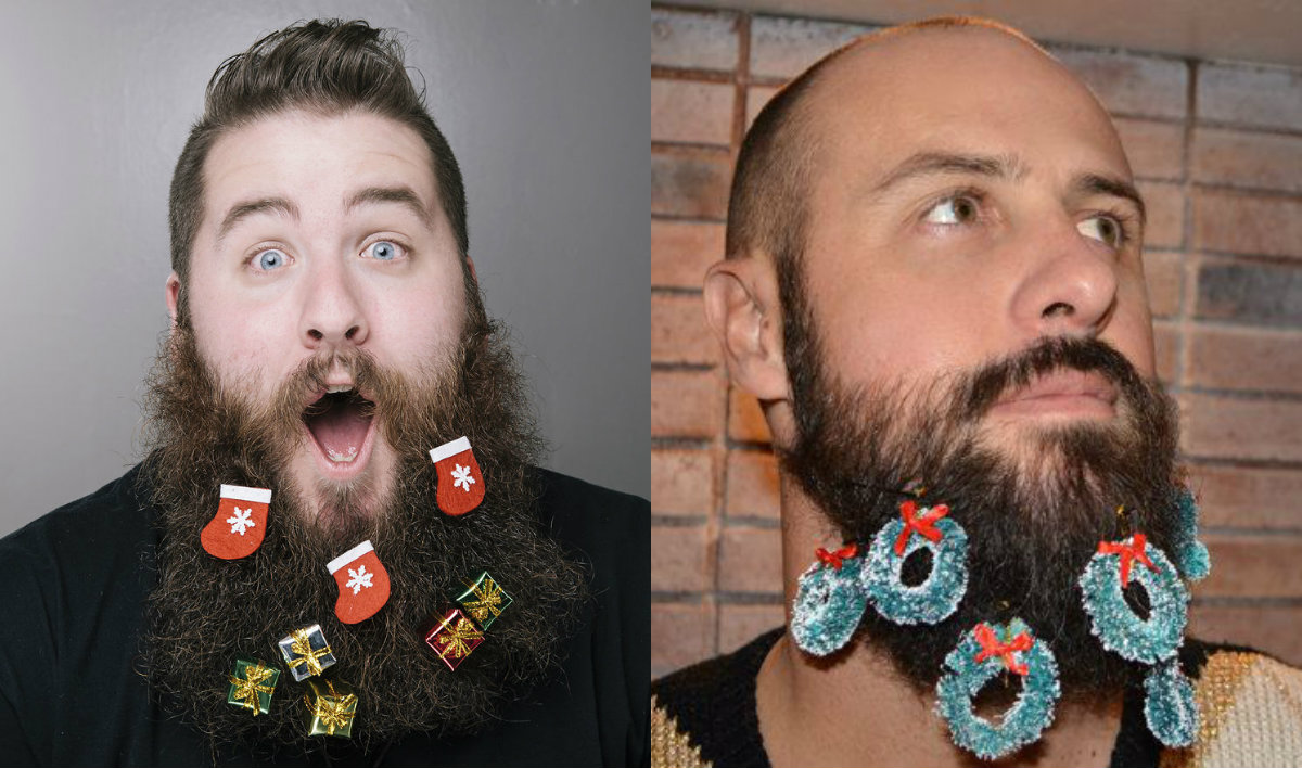 lumbersexual Christmas beards