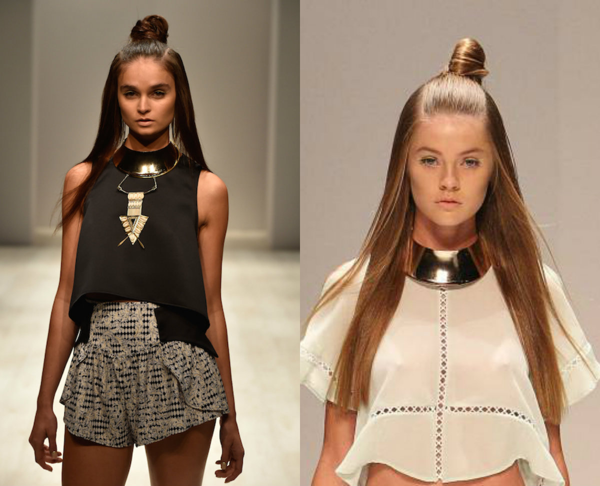 Half Up Top Knots Hairstyles For Everyday Non Casual Looks