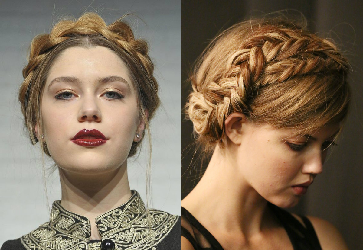Milkmaid Braids Hairstyles You will Love Styling and Wearing ...