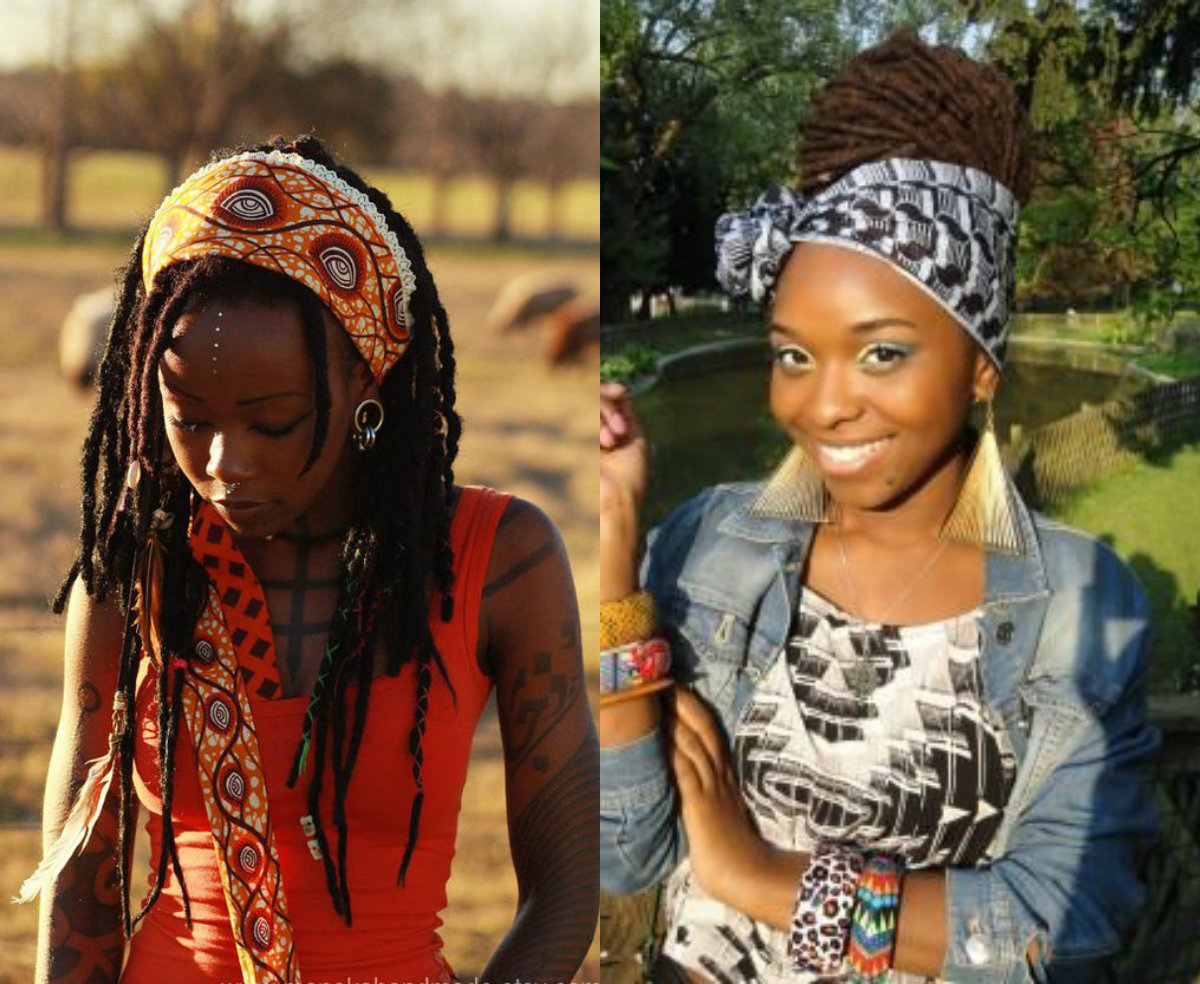 scarves for black women dreads