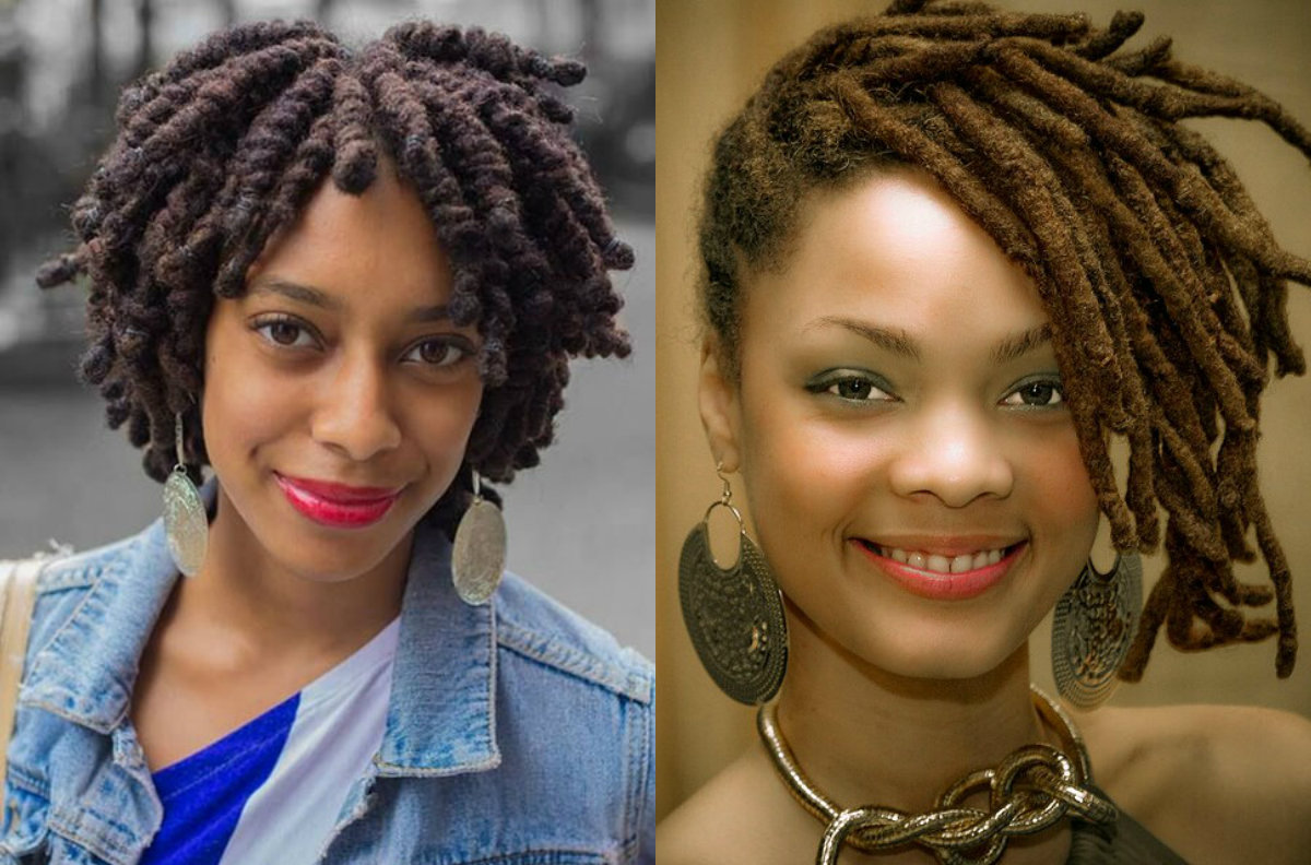 Best 25  Short dread hairstyles ideas on Pinterest | Short dread ...