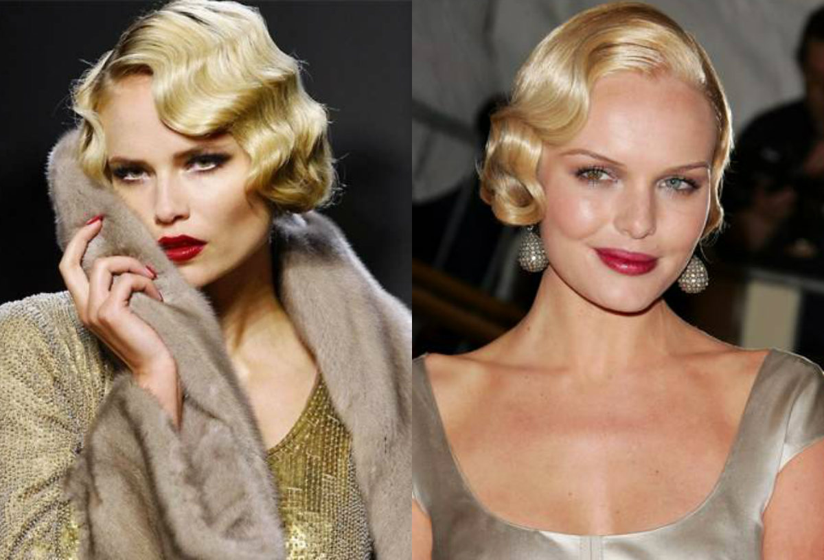 short hair finger waves hairstyles 2017