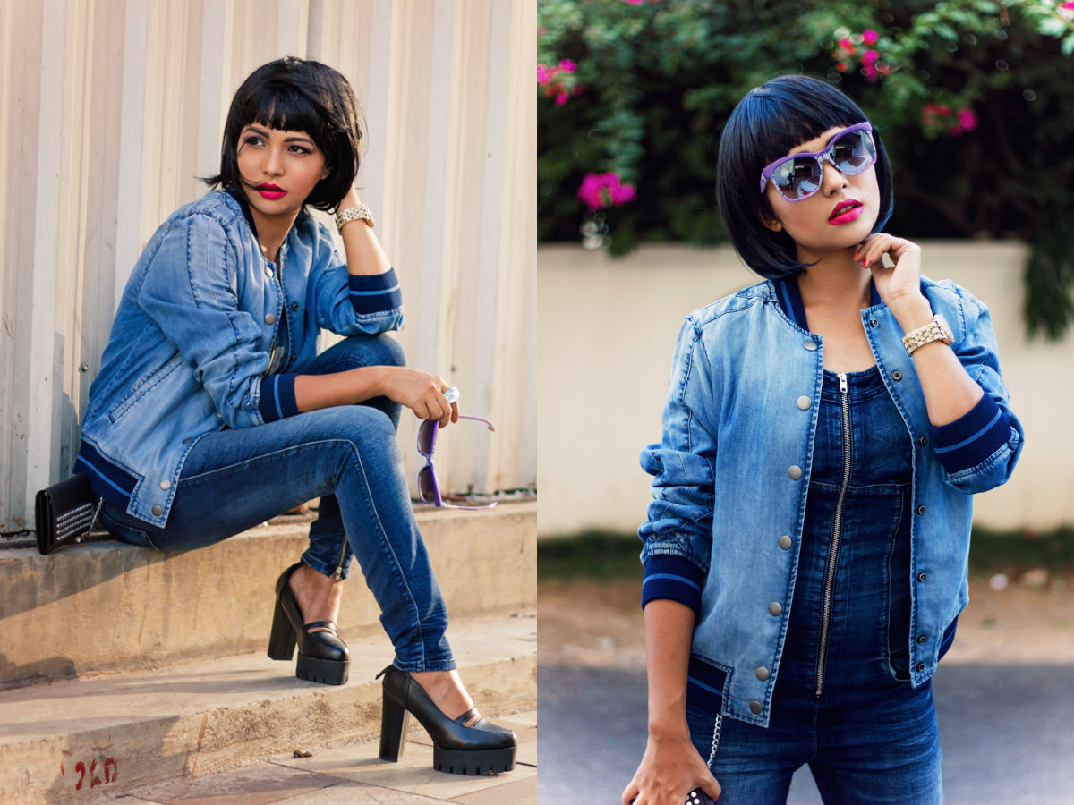 street style bob cuts with bangs