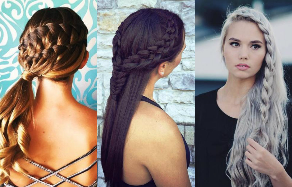 Excellent French Braids Hairstyles For A Chic Look Any Day Hairstyles Short Hairstyles For Black Women Fulllsitofus