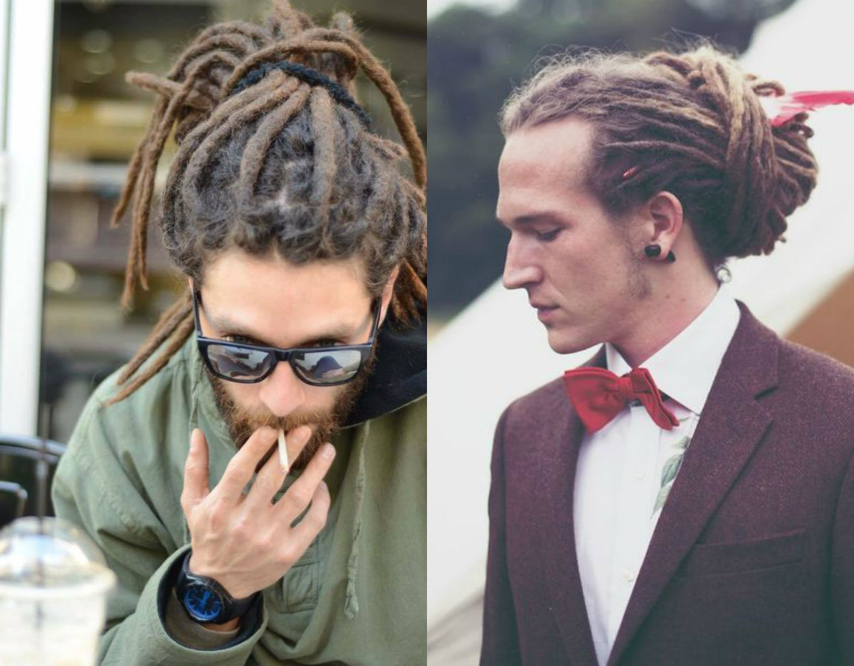 Super Male Dreadlocks Hairstyles 2017 To Express Individuality Hairstyles For Men Maxibearus