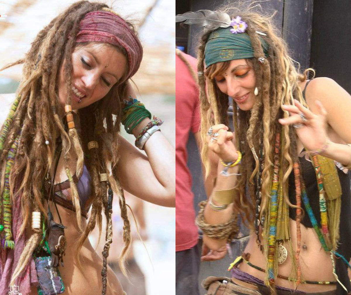 Phenomenal Female Dreads Hairstyles For The Most Daring Ones Hairstyles Short Hairstyles Gunalazisus