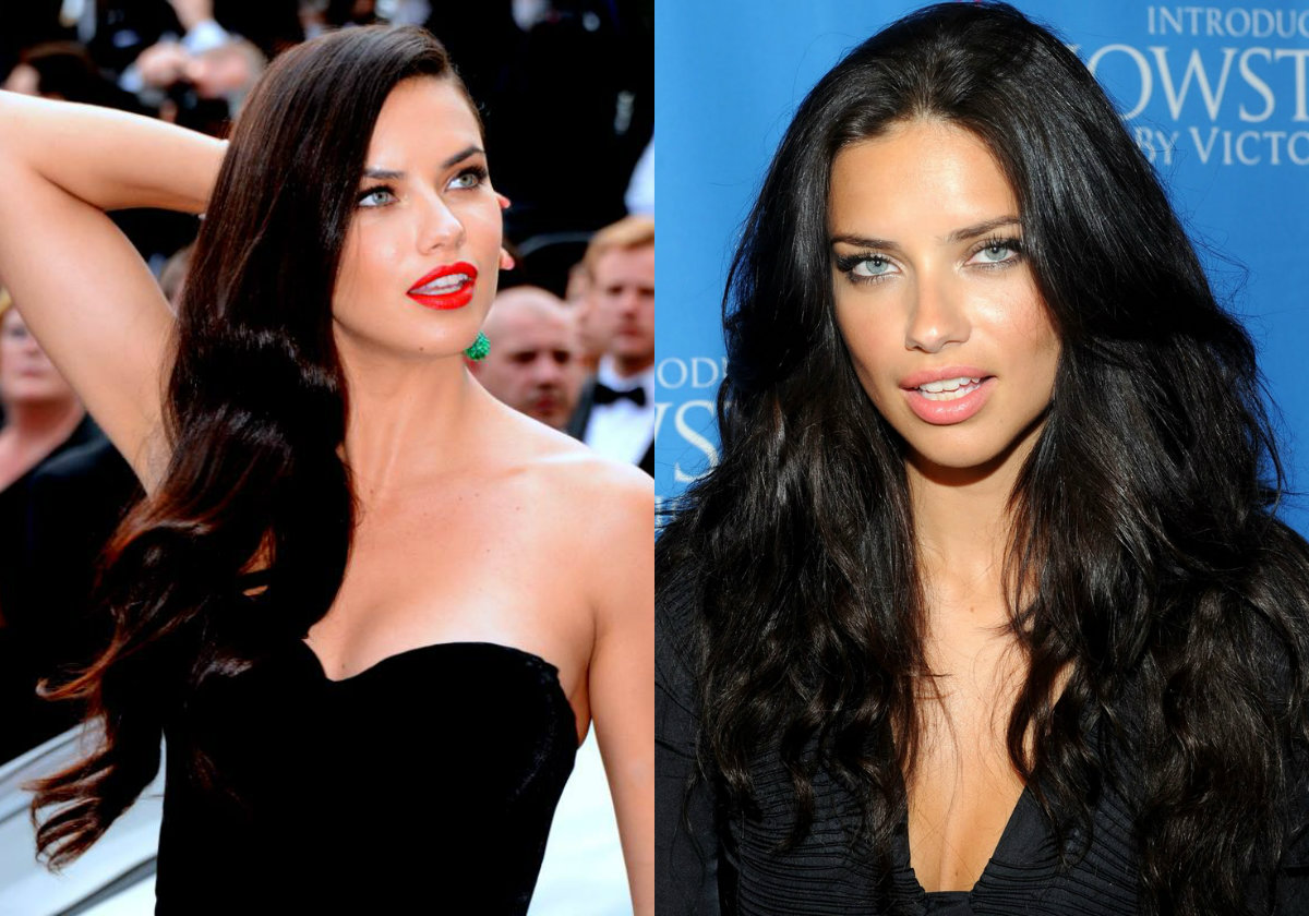 adriana-lima-jet-black-hair-colors