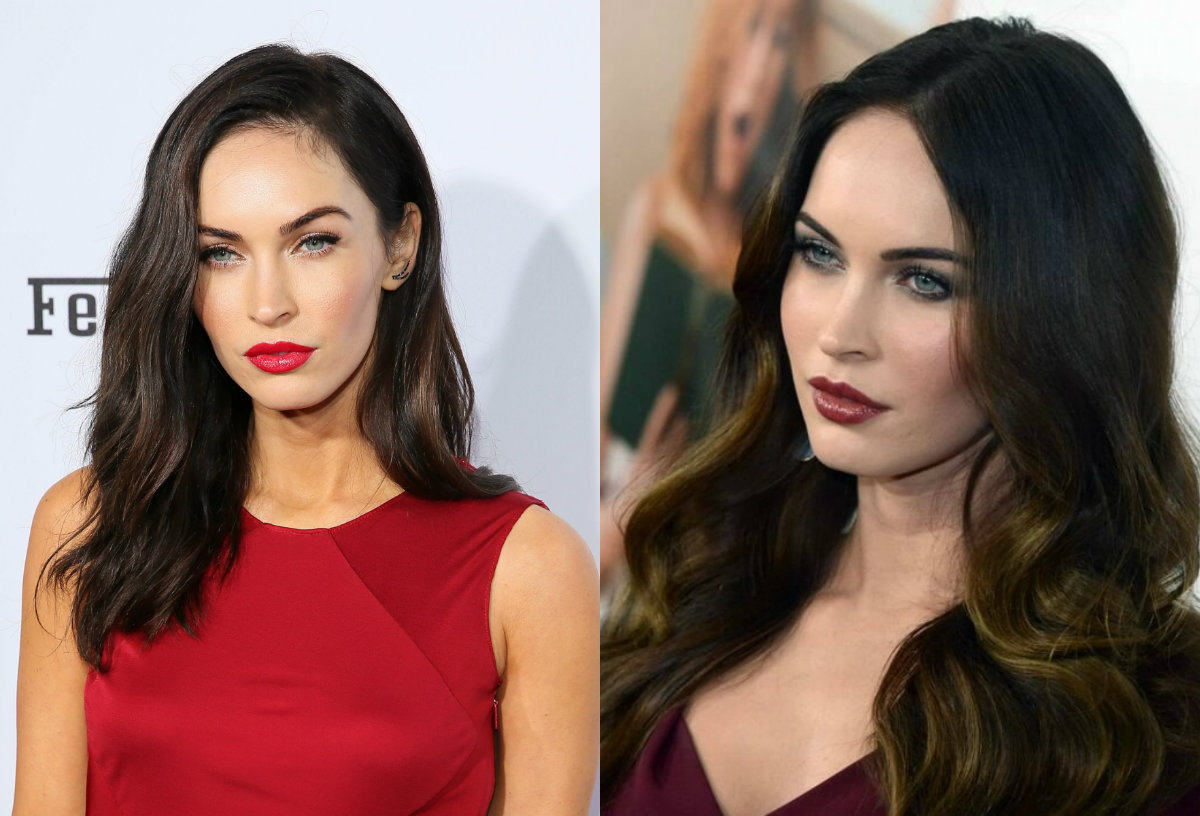 megan-fox-dark-brown-hair-colors