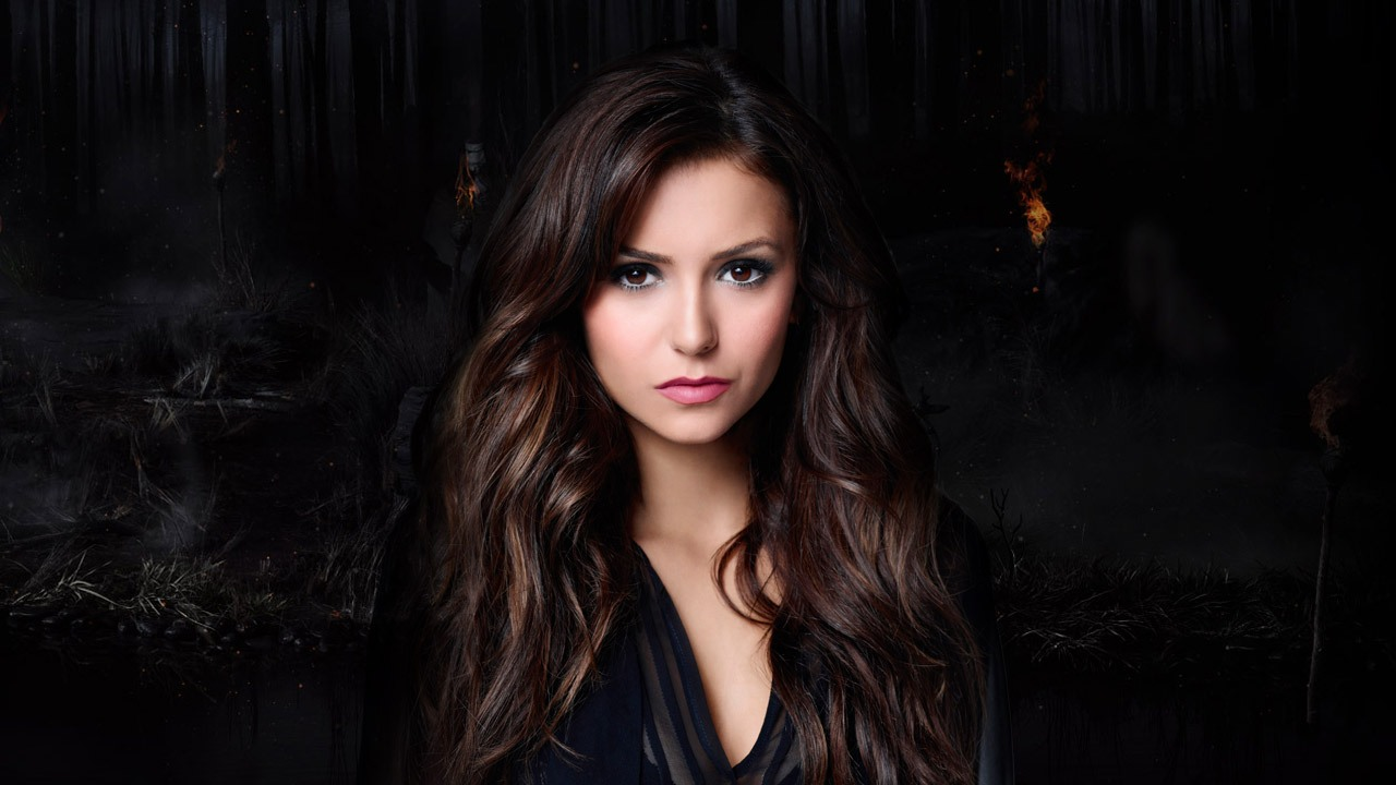 nina-dobrev-dark-hair-color-with-highlights