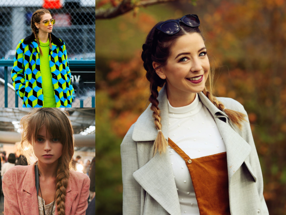 Autumn Braids Hairstyles For The Warmest Looks - Cute Black Braided Hairstyles