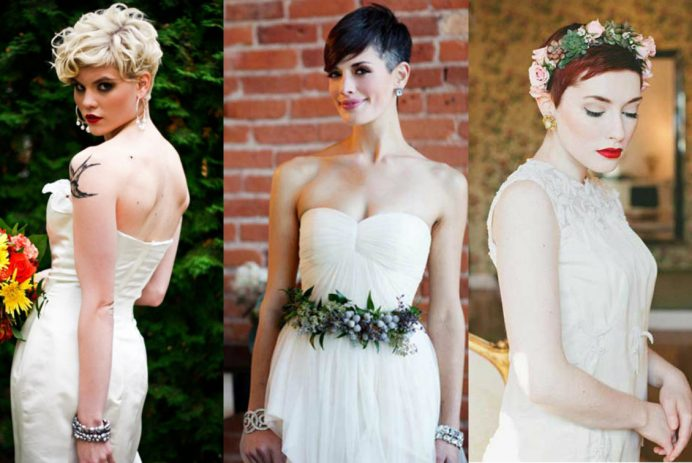 best pixie wedding hairstyles for 2017