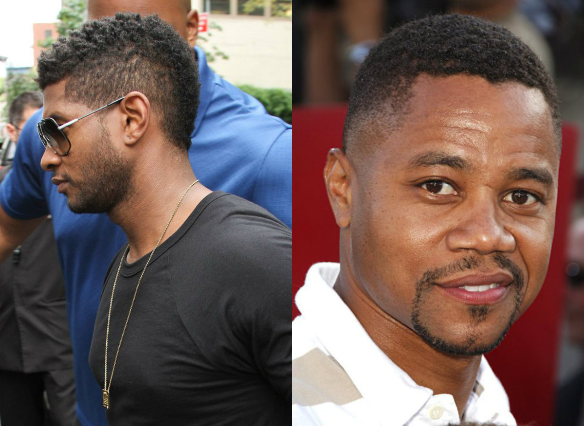 Black Male Celebrities Fade Hairstyles