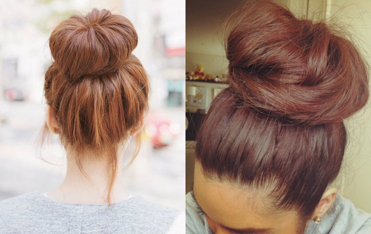 Incredible Easy Classy Donut Bun Hairstyles To Create Neat Image Hairstyles Hairstyles For Men Maxibearus