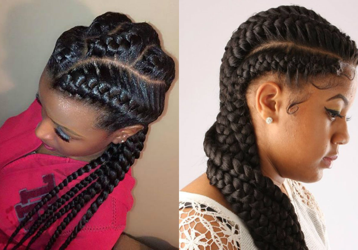 Prime Amazing African Goddess Braids Hairstyles Hairdrome Com Hairstyles For Women Draintrainus
