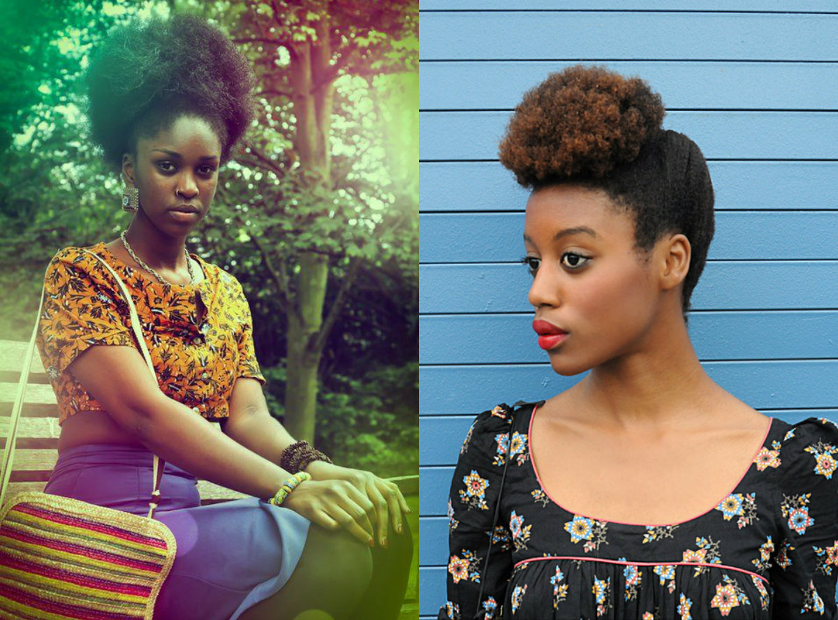 cool-black-women-afro-puffs-hair