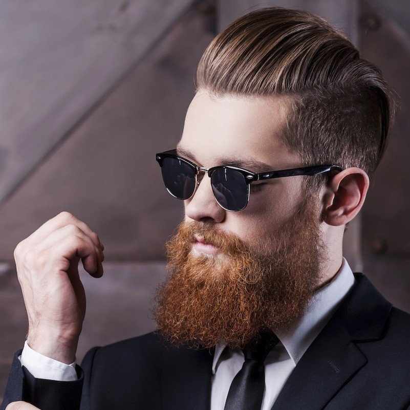 elegant-slicked-back-hairstyles-for-men-with-beards